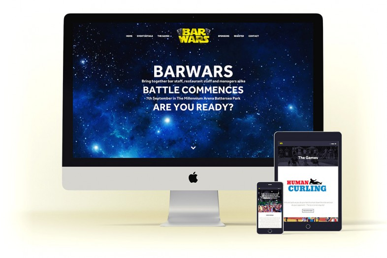 Barwars Website Design Project