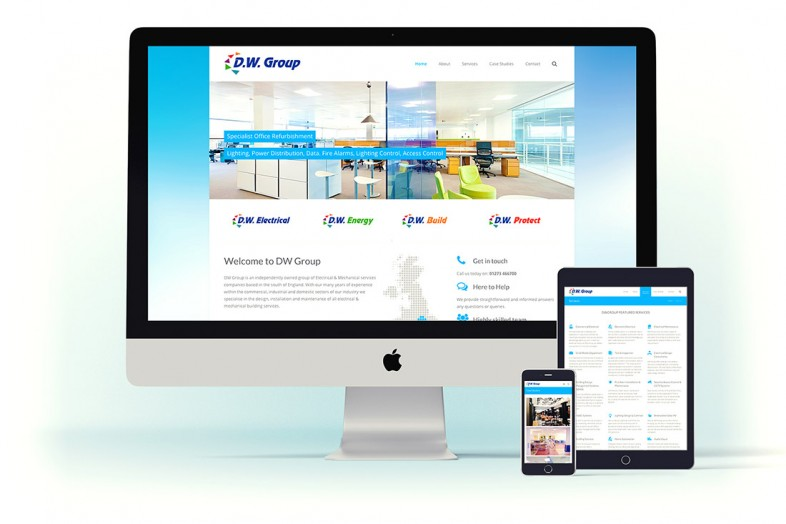 Web Design project for DWGroup