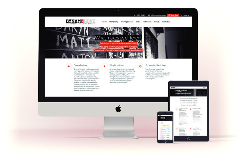 Dynamo Hove Branding and Website Design