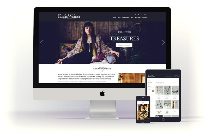 Katie Weiner Website Design Project