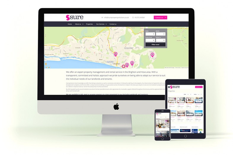 Web Design and Branding for Sure Property