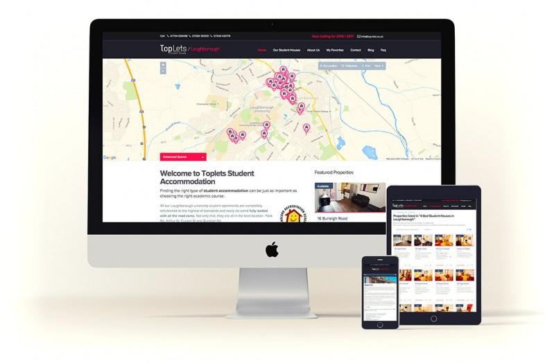 Website design for Toplets