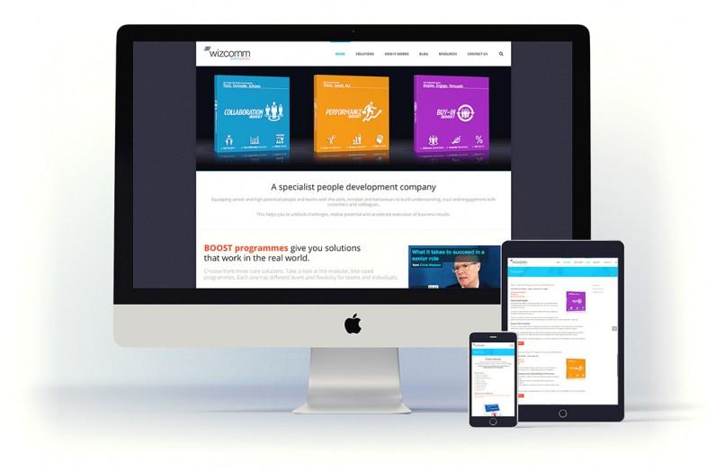 Web design for wizzcom