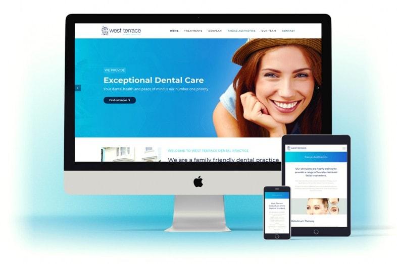 West-Terrace-Dental-Website-Design