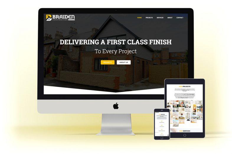 braiden-construction-website-design
