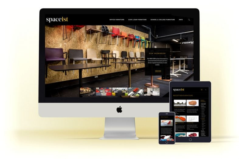 spaceist-website-design