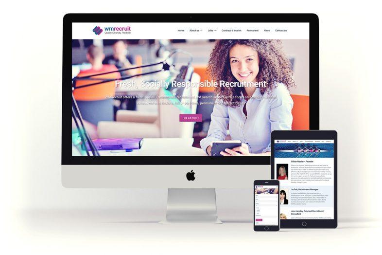 WM Recruit Web Design Project
